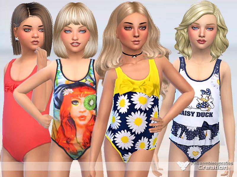 4e1fd19e11 Pinkzombiecupcakes' Miss Daisy Swimwear Collection