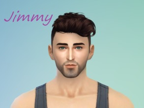 Sims 4 — Jimmy Bravo by UllasM — Hello! everyone. This is UllasM again. :) WISHING YOU A HAPPY NEW YEAR I created this