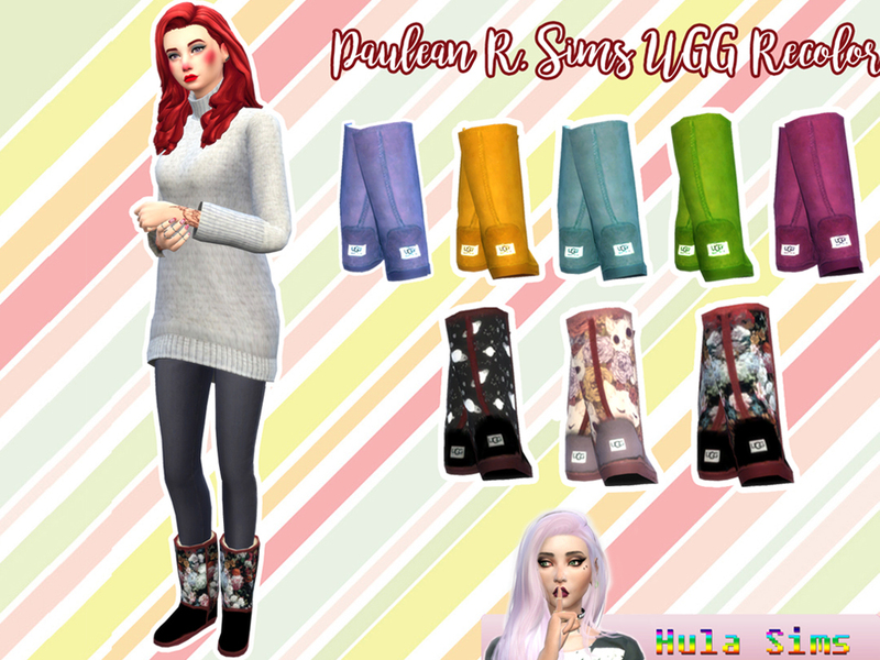 Hulasims16 S Ugg Recolors Mesh Needed