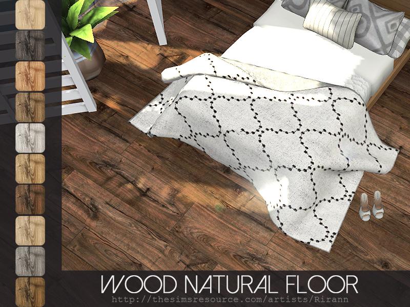 Rirann S Wood Natural Floor