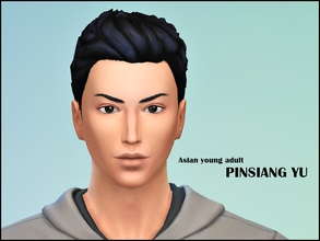 Sims 4 — PINSIANG YU by jeisse197 — Hi! I made a handsome Asian young adult, No Custom Content used/No Sliders/No Skins,