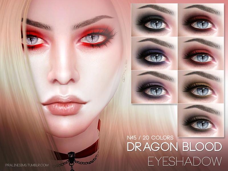 Pralinesims Dragon Blood Eyeshadow N45