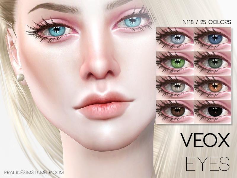 Pralinesims' Veox Eyes N118