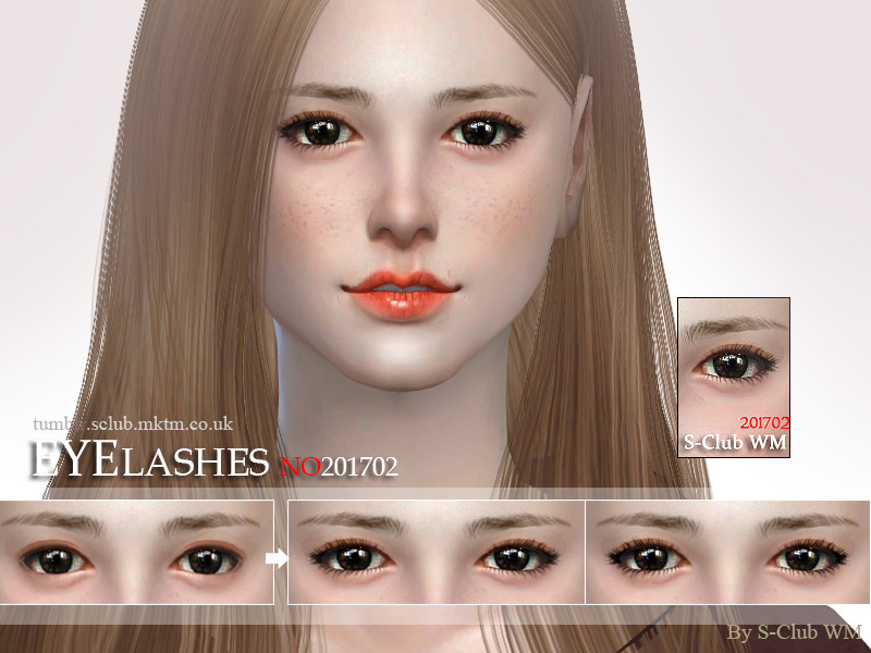 399daca9c36 S-Club WM ts4 eyelashes 201702