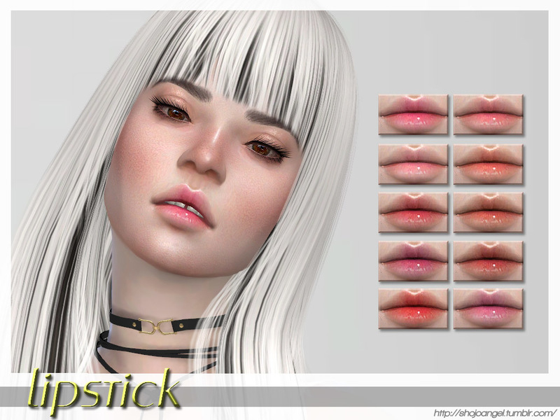 ShojoAngel's LipsSet30