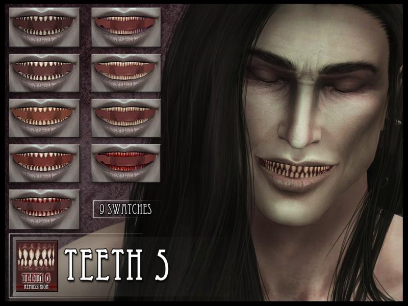 Sims 4 Downloads - 'teeth'