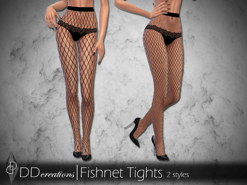 11a3fd4c8694d3 ddcreations' DD Highwaisted Fishnet Tights