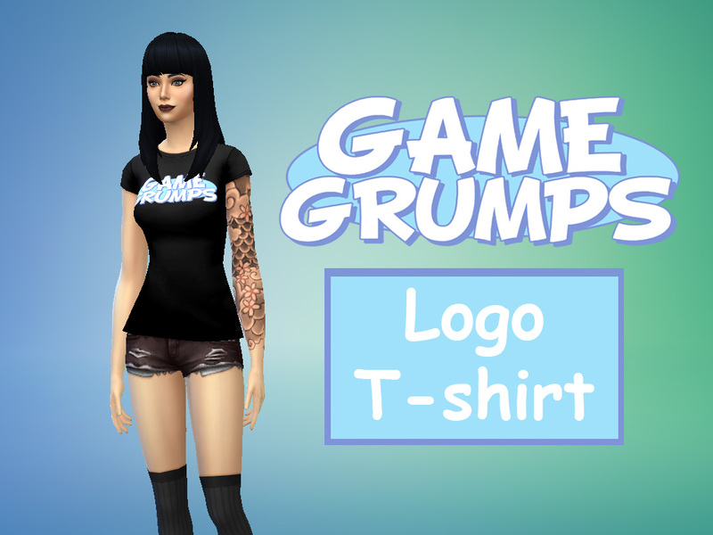 grumpybang s game grumps logo t shirt