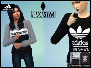 e554f19ccdb 2 Adidas sweatshirt (Adidas +.