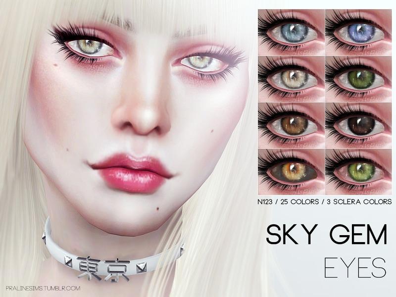 Pralinesims Sky Gem Eyes N123
