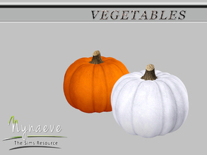 Sims 3 — Pumpkin by NynaeveDesign — Vegetables - Pumpkin Located in: Decor - Miscellaneous Decor Price: 54 Tiles: 0.5x0.5