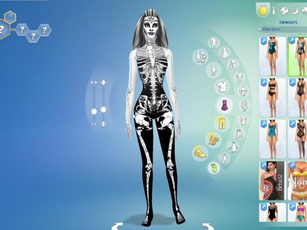 Onicachan S Skeleton Skin