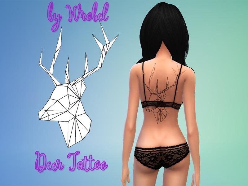 By Photo Congress || The Sims 4 Cc Tattoos Tumblr