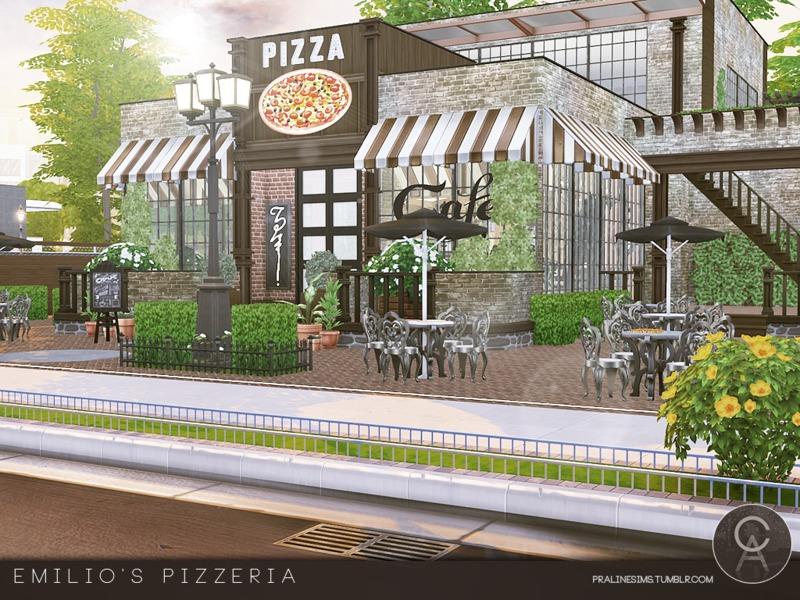 Pralinesims' Emilio's Pizzeria
