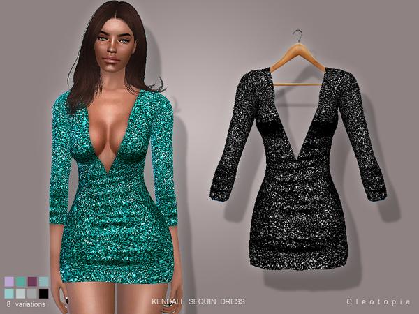 Cleotopia S Set71 Kendall Sequin Dress