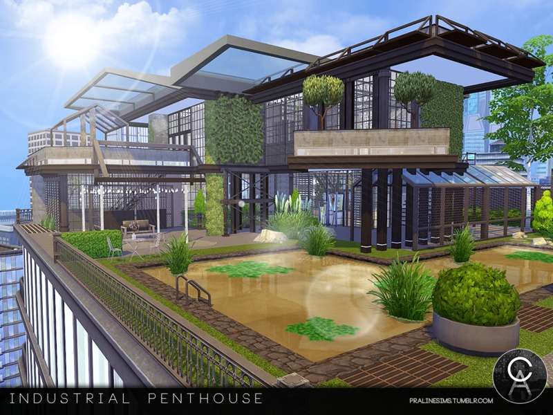 Pralinesims 39 Industrial Penthouse