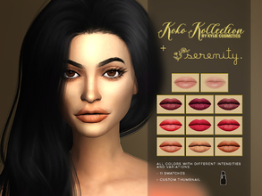 serenity cc s sims 4 female lipstick