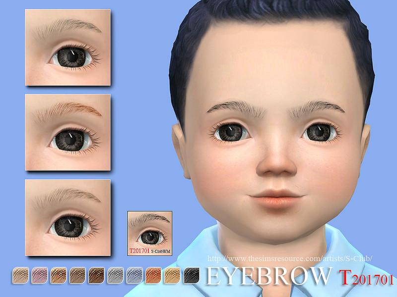 S Club Wm Ts4 Eyebrows T 201701