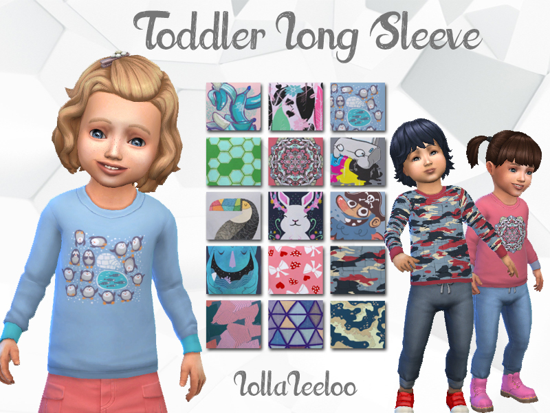 2a67d1e79c53 Toddler Long Sleeve Shirts by LollaLeeloo