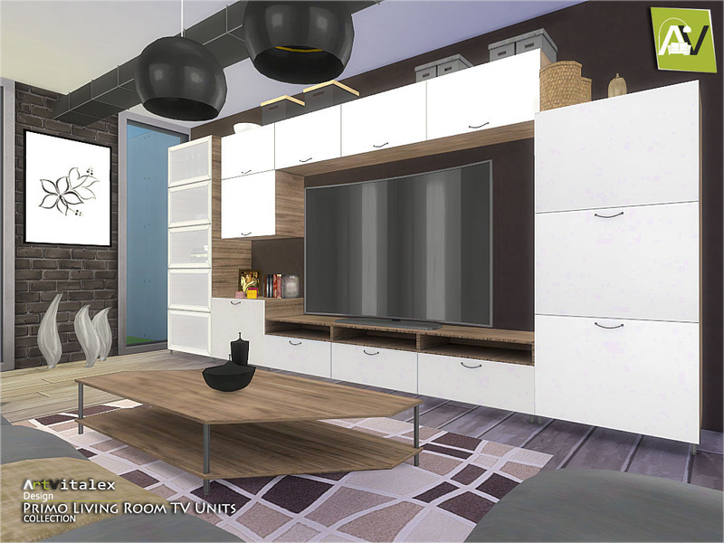 ArtVitalex\'s Primo Living Room TV Units