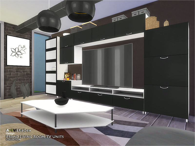 ArtVitalex\'s Primo Living Room TV Units