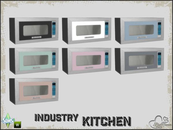 Buffsumm S Kitchen Industry Microwave Working