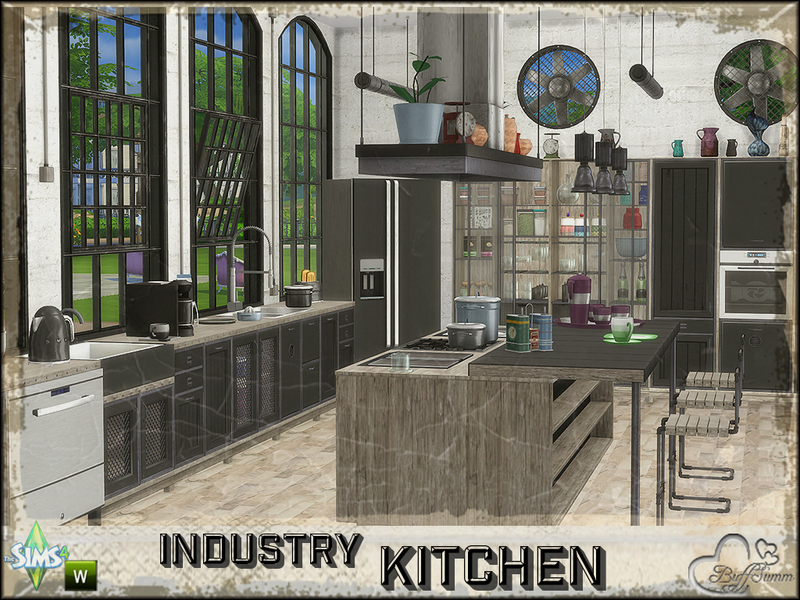 Industry Kitchen Menu For Financial
