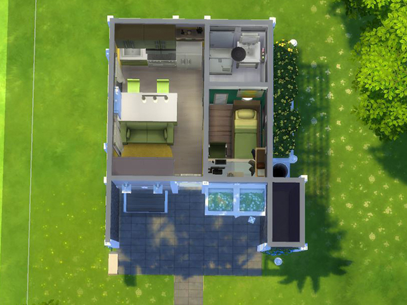 cherrynellie 39 s small modern house 5x5 chellenge lot