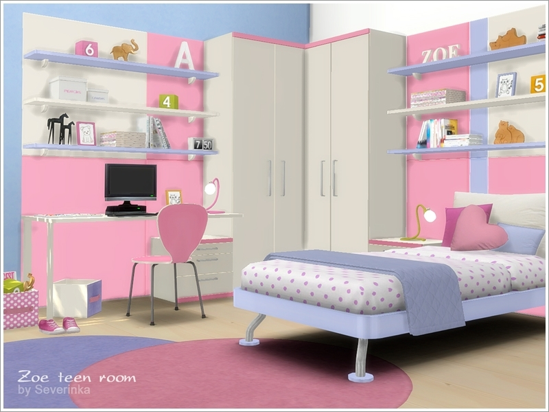 Zoe Teen Room Furniture