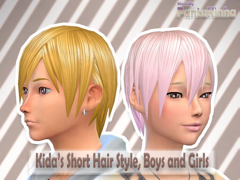 Hair Photos Boy Download: Kida's Short Hair Style Made By PantuKinha