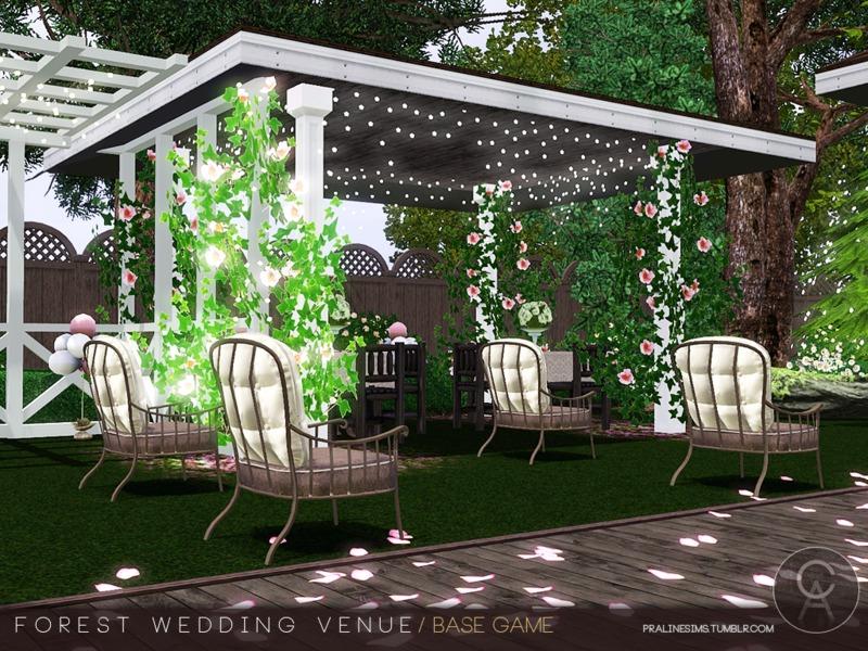 Sims 3 Wedding Venue   Season love