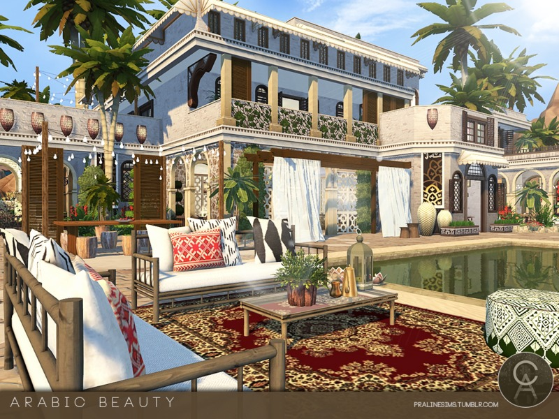 Pralinesims 39 arabic beauty for Home design resources