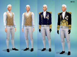 Sims 4 Male Clothing - 'victorian'