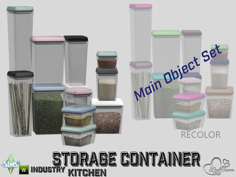 Buffsumm'S Kitchen Storage Containers