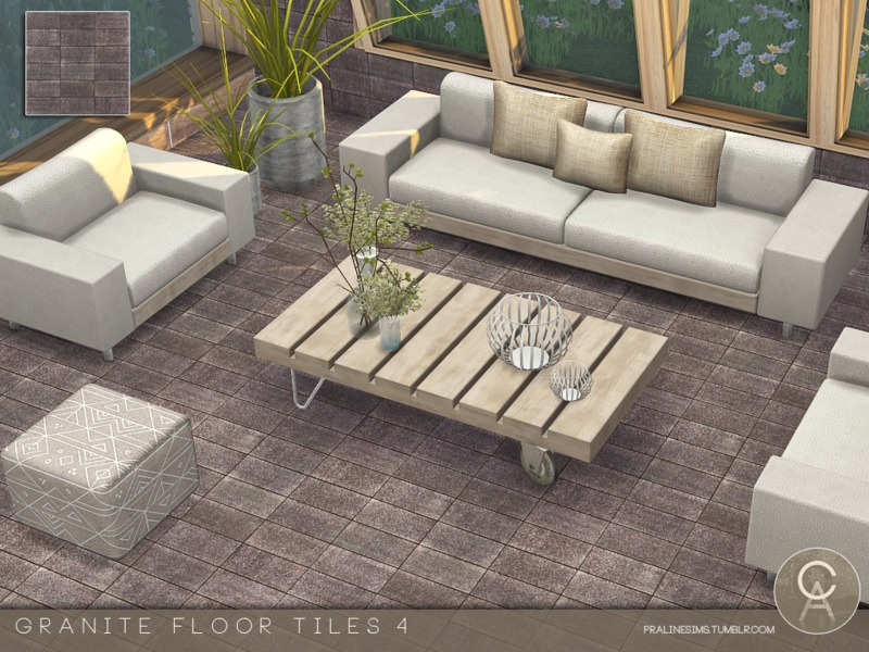 Pralinesims Granite Floor Tiles 4