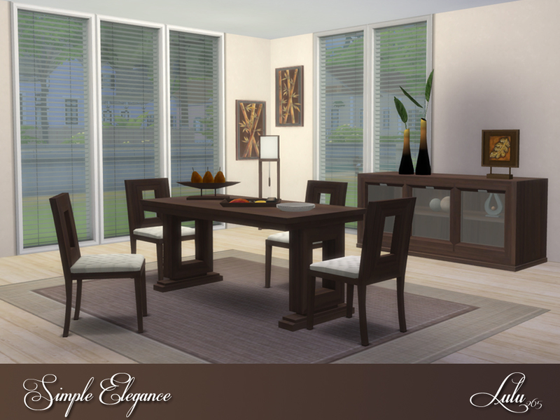 lulu265s simple elegance dining