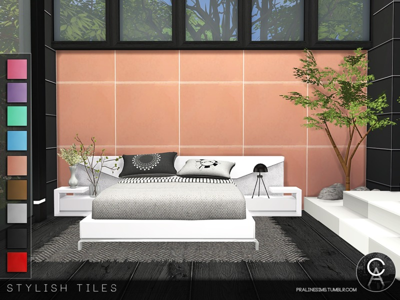 . Pralinesims  39  Stylish Tiles