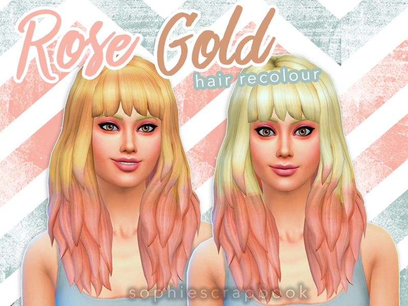 Sims 4 Hair Ombre