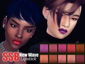 Sims 4 — SSB New Wave Lipstick by SavageSimBaby — This are definately the best lipstick to contour your lips. With a