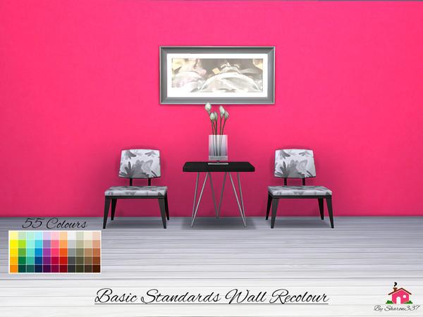 Sims  Recolor Palette Paint Net