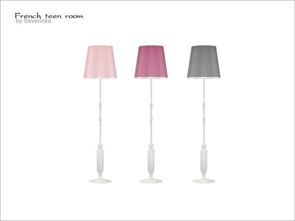 Severinka 39 s french teen room floor lamp - Floor lamps for teenage bedrooms ...