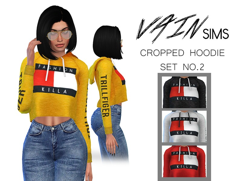 6f805bde78379 VainSims  Cropped Hoodie Set No2