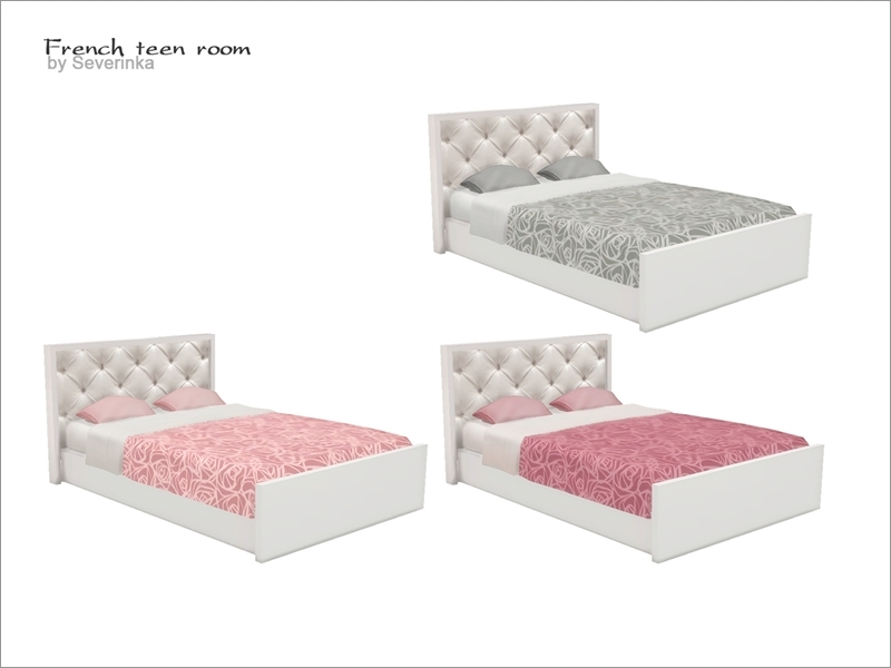 Severinka_\'s [French teen room] - double bed FIX