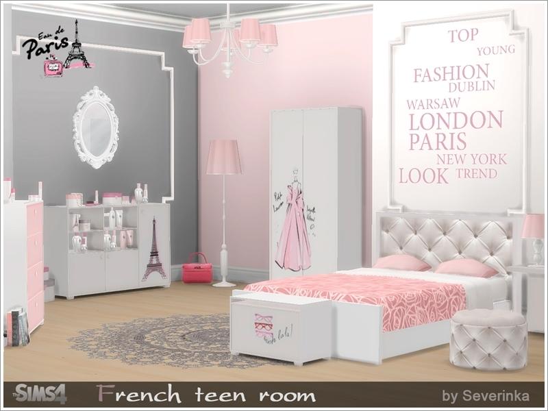 Severinka_\'s French teen room