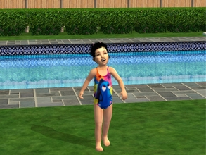 Sims 2 — Toddler Finding Dory Bathers by sinful_aussie — Swimwear for toddler girls, found under everyday, swimwear and