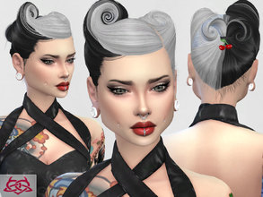 Sims 4 — Victory Rolls 05 by Colores_Urbanos — new meshes made by me -Need your game updated with the latest patch from