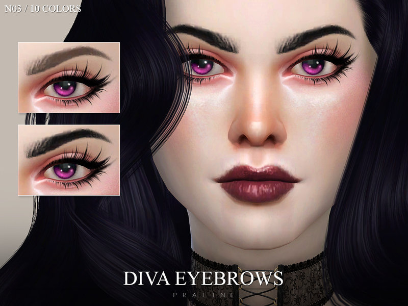Pralinesims Diva Eyebrows N03