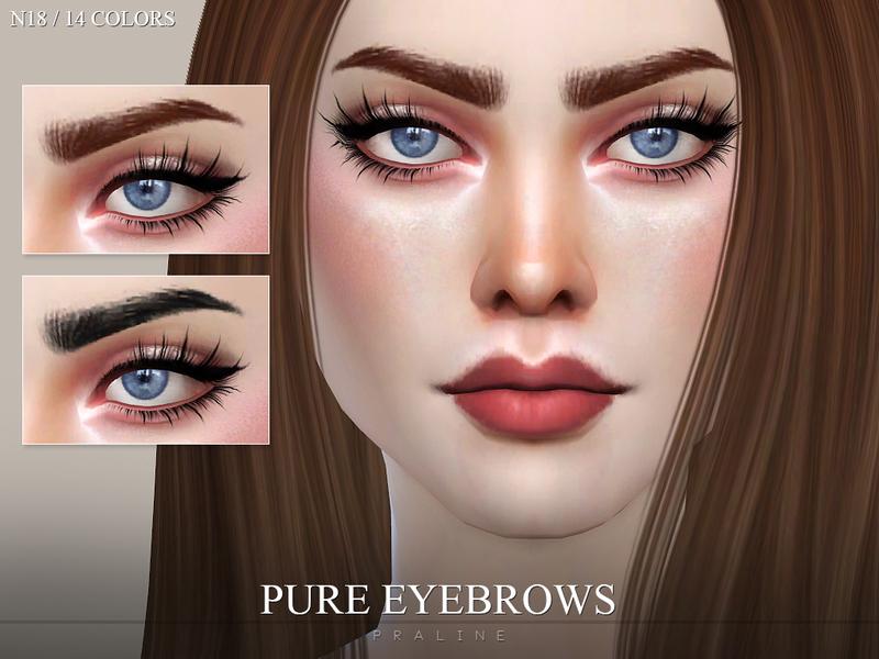 Pralinesims Eyebrow Pack N01