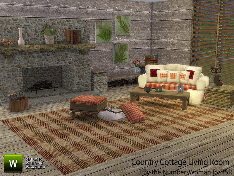 Thenumberswoman S Country Cottage Living