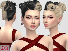 Sims 4 — Victory Rolls 06 by Colores_Urbanos — new meshes made by me -Need your game updated with the latest patch from